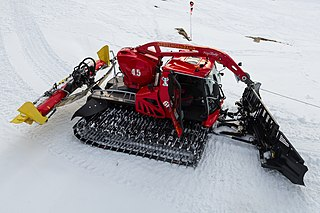 process of manipulating snow