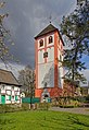 Odenthal Ortszentrum Pankratiuskirche Turm.jpg