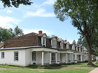 Fort Stanton - Officers Quarters at Fort Stanton