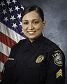 Official portrait, Sgt. Bianca Burgos, Joint Base Anacostia-Bolling Police 150313-N-WY366-001.jpg
