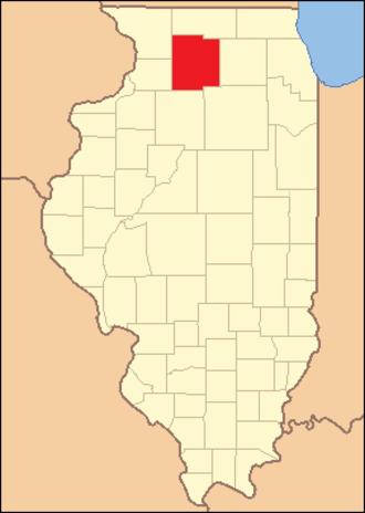 Ogle County, Illinois - Image: Ogle County Illinois 1836