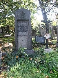 Olšanské hřbitovy, Jan Erazim Vocel.jpg