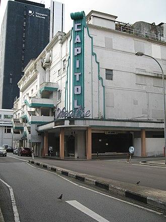 Capitol Theatre, Singapore - Image: Old Capitol
