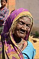 Old Indian woman with a sari.jpg
