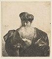 Old Man with Beard, Fur Cap, and Velvet Cloak MET DP814339.jpg