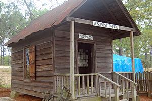 Blacksville, Georgia - Old Post Office
