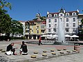 Old Town Plaza Scene - Plovdiv - Bulgaria (43297206382).jpg
