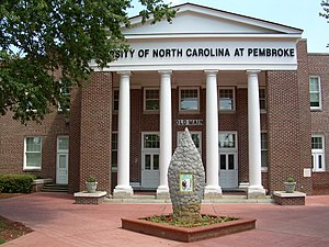 University of North Carolina at Pembroke - Old Main