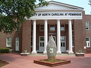University of North Carolina at Pembroke - Old Main
