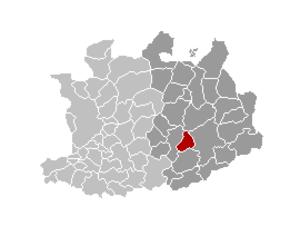 Olen, Belgium - Image: Olen Locatie