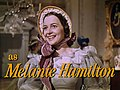 Olivia de Havilland as Melanie Hamilton in Gone With the Wind trailer.jpg