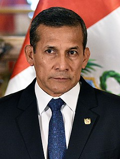 Ollanta Humala President of Peru