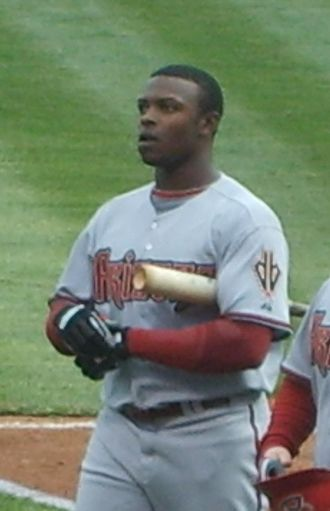 Justin Upton - Upton with the Arizona Diamondbacks in 2008