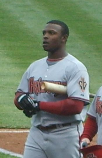 English: Justin Upton of the Arizona Diamondbacks