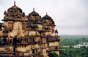 Captain Nemo - Jahangir Mahal, home to the real-life Rajas of  Orchha, Bundelkhand
