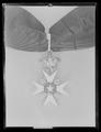 Ordenstecken för kommendör av Nordstjärneorden, Sverige. 1800-talets mitt - Livrustkammaren - 54071.tif