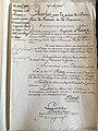 Ordonnance Royale du règlement d'armoiries d'Auguste RAVEZ.jpg