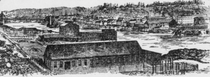 The industrial district in 1895