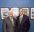 Oregon Teacher of the Year Brett Bigham with Senator Jeff Merkley.jpg
