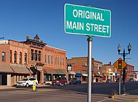 "The ""Original Main Street"" in downtown Sauk Centre"