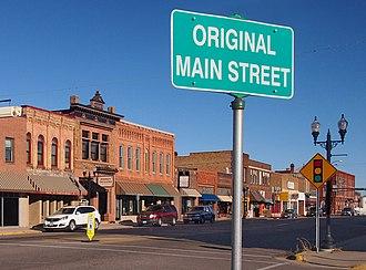 """Sauk Centre, Minnesota - The """"Original Main Street"""" in downtown Sauk Centre"""