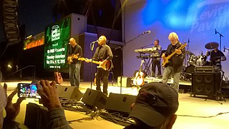 Orleans (band) - The group performing at Levitt SteelStacks in Bethlehem, Pennsylvania, May 23, 2015