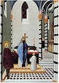 Osservanza Master. saint-anthony-at-the-mass--1430-35 Berlin Dahlem.jpg