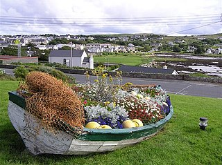 Dungloe Town in Ulster, Ireland