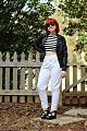 Outfit Inspired by Debbie Harry- Striped Top, Leather Jacket, and High Waisted White Jeans (16108819684).jpg