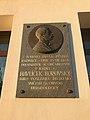 Overview of plaque of speak of Karel Havlíček Borovský at Dolní náměstí street in Humpolec, Pelhřimov District.jpg
