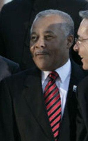 Owen Arthur - Arthur at the 2005 Summit of the Americas.