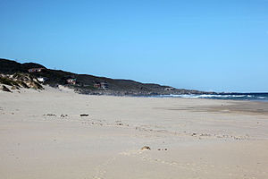 Oyster Bay, Eastern Cape - The eastern side of the bay