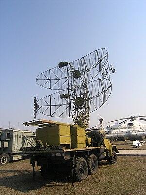 P-19 radar - In Togliatti Technical Museum