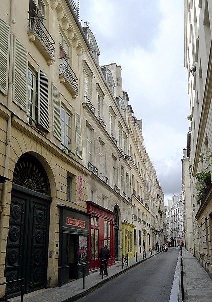 Fichier:P1050070 Paris Ier rue Thérèse n°1 MH rwk.jpg