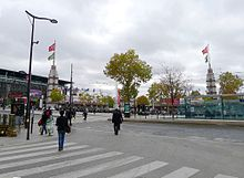 Porte de versailles wikip dia for Salon e marketing porte de versaille