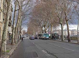 1986 Paris police station attack - Quai de Gesvres in 2012, street of the police station