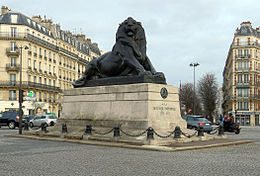 P1150549 Paris XIV lion place Denfert-Rochereau rwk.jpg