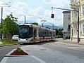 P1200146 20.06.2017 Gmunden Franz-Josef-Platz Strassenbahn Wagen 129.jpg