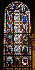 Saint Jean-Baptiste, Saint Pierre, Saint André, Saint Paul, Saint Merry, Les Vertus