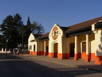 Yacuíba - Image: P7260383 Yacuiba estación