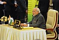 PM Narendra Modi addressing the 12th ASEAN-India Summit in Nay Pyi Taw, Myanmar.jpg