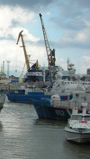 Muravey-class patrol boat - Image: PSKR 133 1400 2008 Novorossiysk