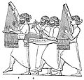 PSM V40 D493 Procession in triumph showing dulcimer.jpg