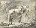 Paard voor een slede, naar rechts, RP-T-1898-A-3560.jpg