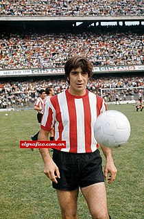 Carlos Pachamé Argentine footballer and coach