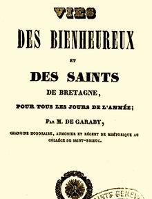 Calendrier Des Saints Et Des Prenoms.Calendrier Breton Des Saints Wikipedia