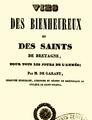 Page de garde du livre la vie des bienheureux et des saints de Bretagne, pour tous les jours de l'année.png