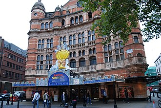 Spamalot - Spamalot showing at the Palace Theatre in October 2008