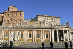 Apostolic Palace from St. Peter's Square