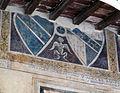 Palazzo vicariale di certaldo, loggia in facciata 03 stemma de nobili.JPG